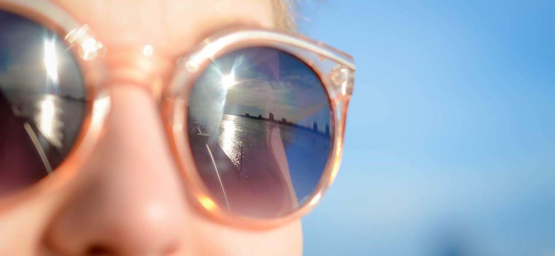 Efectos de los rayos solares sobre la vision