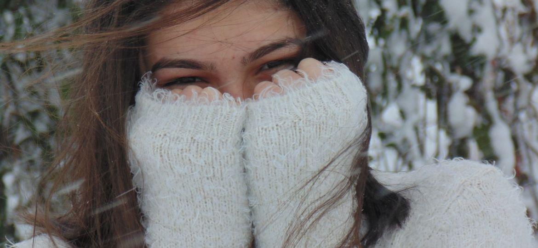 frío ojos