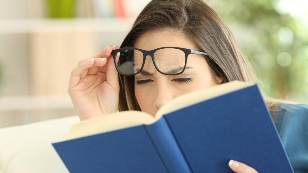 vista cansada Refracción ocular: tipos y diagnóstico